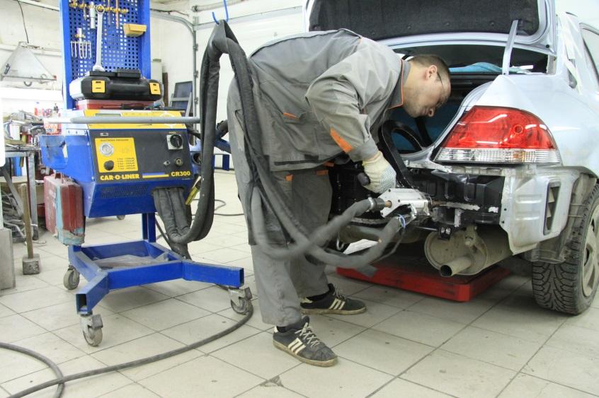 Кузовной ремонт автомобиля своими руками в гараже 19